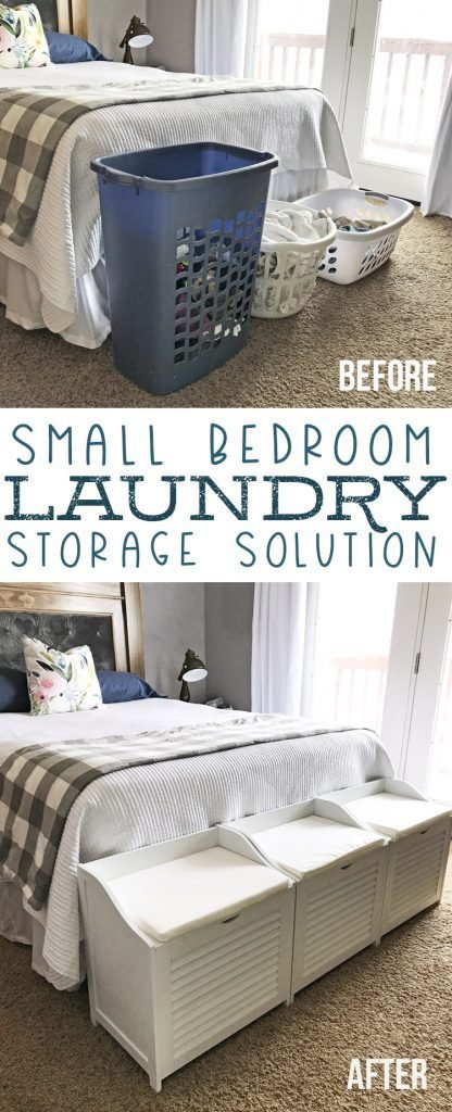 Best Small Bedroom Laundry Storage Benches Thecraftpatchblog Com With Pictures