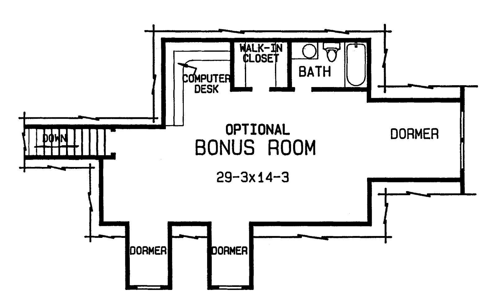 Best The Cole 4375 4 Bedrooms And 3 Baths The House Designers With Pictures