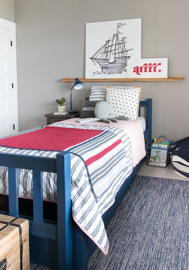 Best Pirate Themed Boy Bedroom The Lilypad Cottage With Pictures