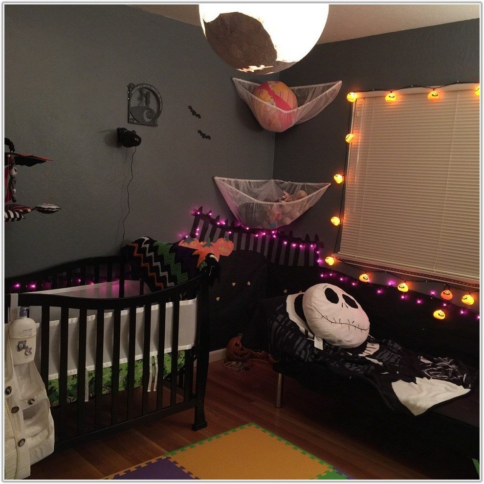 Best Nightmare Before Christmas Room Theme Bedroom Home With Pictures