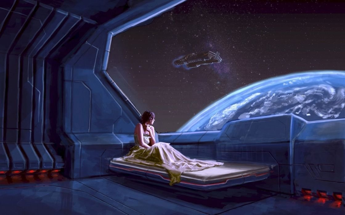 Best Sci Fi Futuristic Space Planets Window View Scenic Stars With Pictures