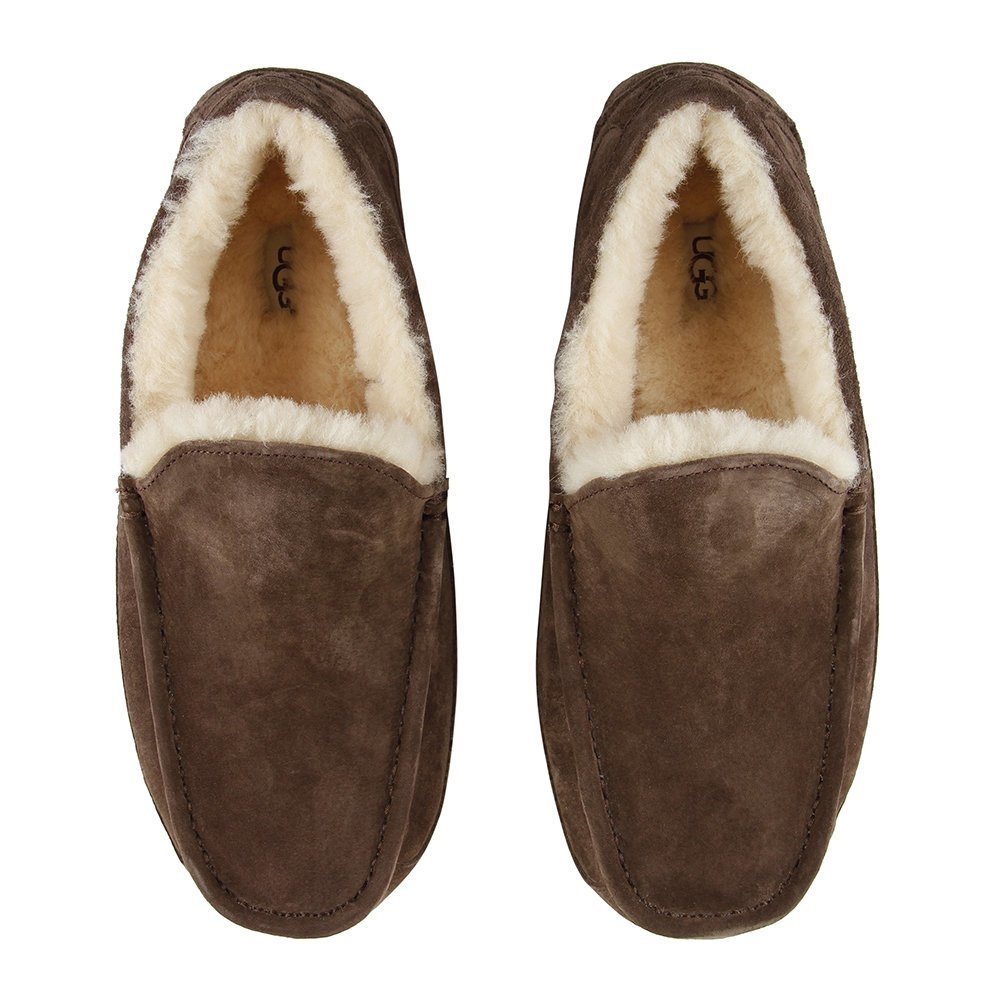 Best Buy Ugg® Men S Ascot Slippers Espresso Amara With Pictures