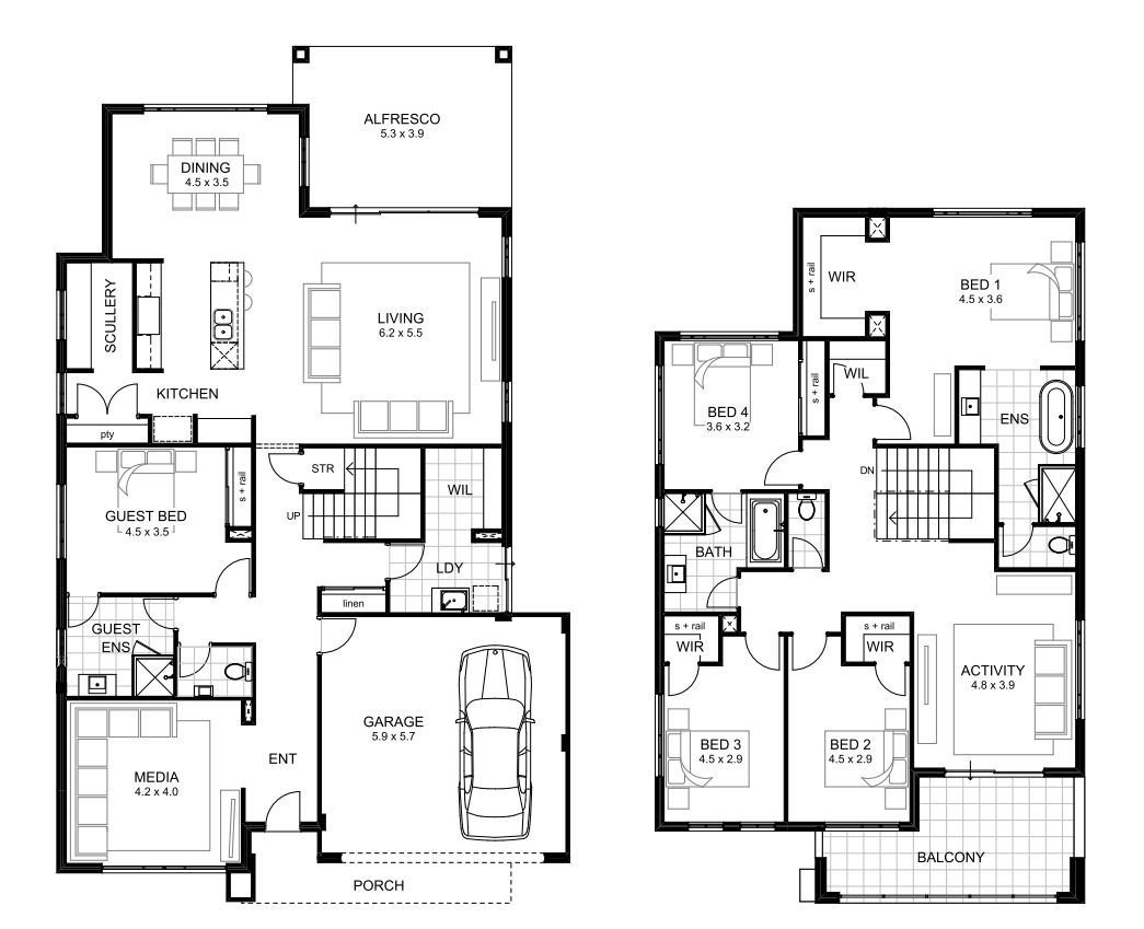 Best 5 Bedroom House Designs Perth Double Storey Apg Homes With Pictures
