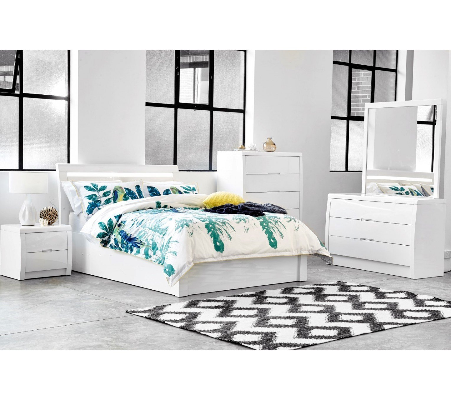 Best Rockhampton White Gloss Gaslift Bed With Pictures