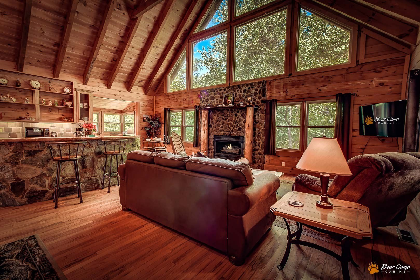 Best 3 Bedroom Cabins Bear Camp Cabin Rentals With Pictures
