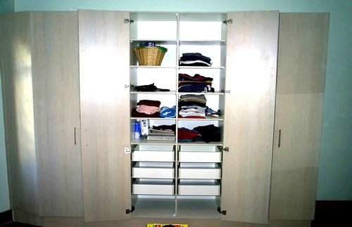 Best Balsa Melamine Bedroom Cupboards With 6 Drawers With Pictures