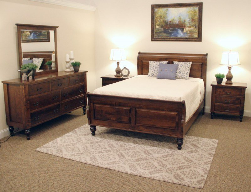 Best Charleston Bedroom Set Amish Made Bun Foot Bedroom With Pictures