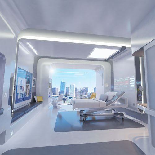 Best Back To The Future Patient Room 2020 By Clemson With Pictures