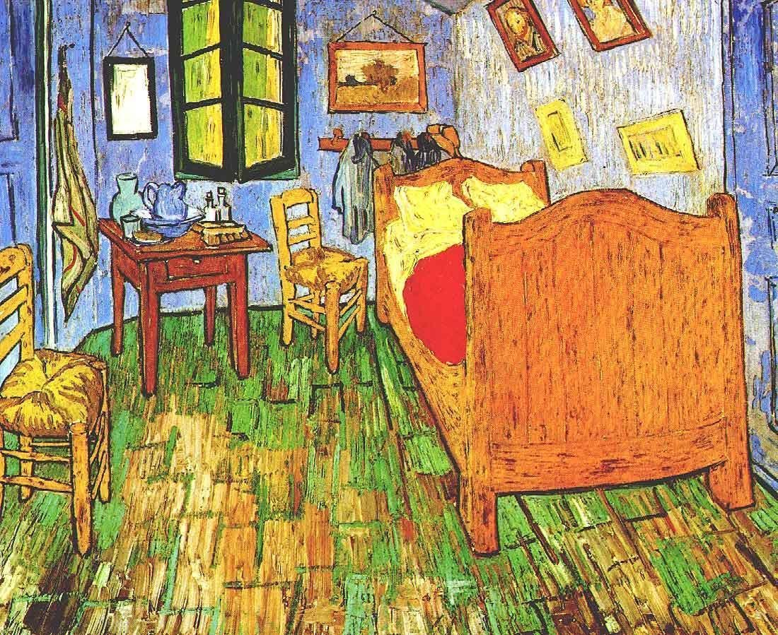 Best Vincent S Bedroom In Arles 2 Van Gogh Oil Painting With Pictures