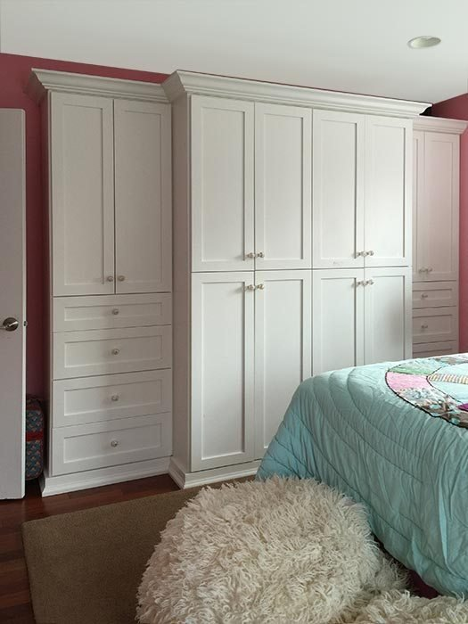 Best Wardrobe Closet With Built In Bedroom Cabinets Solves Storage Problems With Pictures