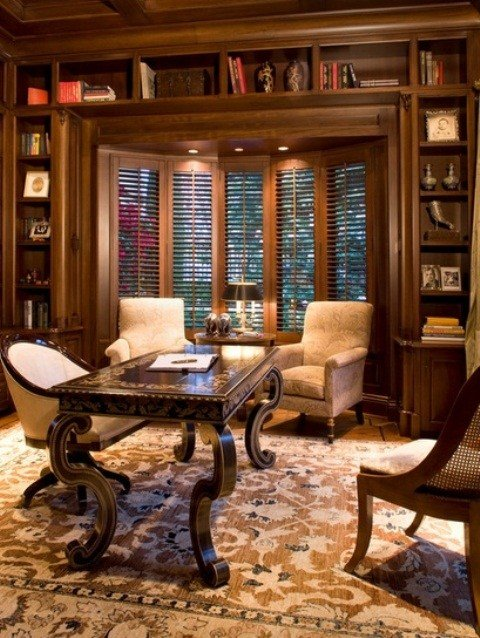 Best 55 Elegant And Exquisite Feminine Home Offices Digsdigs With Pictures