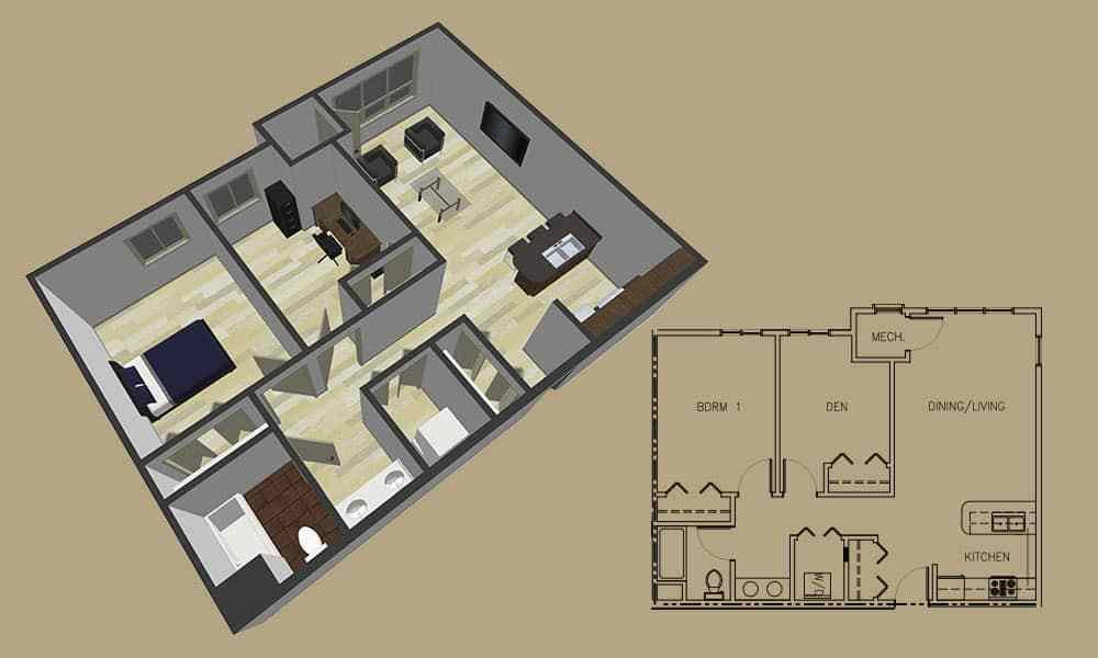 Best 1 Bedroom Apartment Floor Plans 1 Bedroom Apartments Winona With Pictures