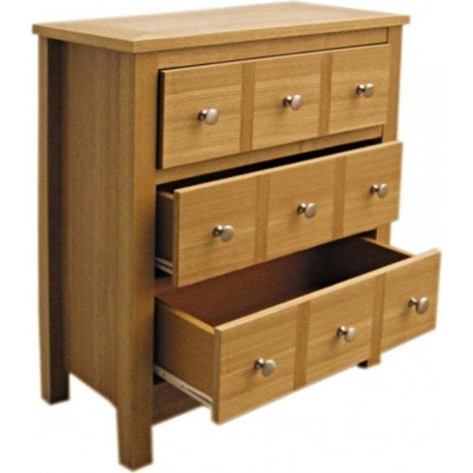 Best Lpd Furniture Oakridge Real Ash Multi Drawer Chest With Pictures