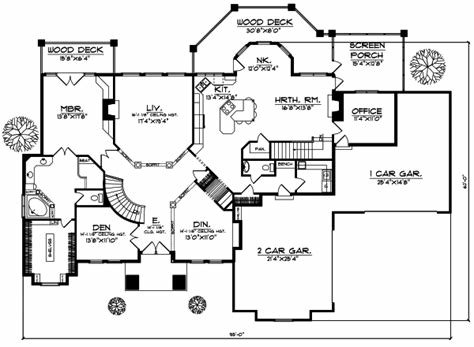 Best Luxury House Plan 5 Bedrooms 3 Bath 5282 Sq Ft Plan 7 506 With Pictures
