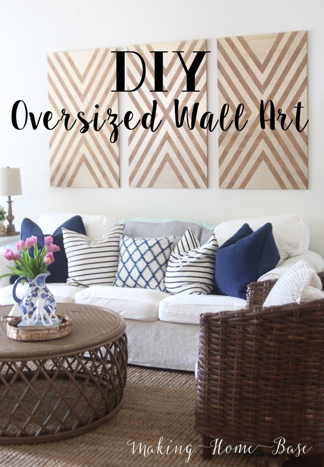 Best Diy Oversized Wall Art With Pictures