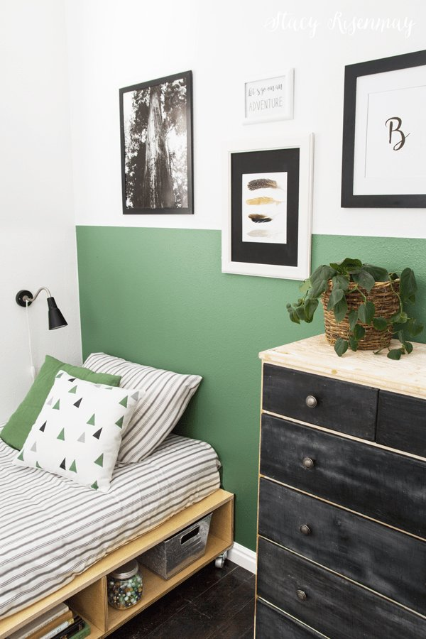 Best Vintage Green Boy Room Makeover Stacy Risenmay With Pictures