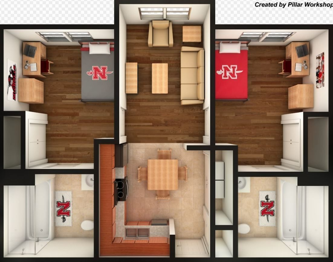 Best 2 Bedroom Apartment – Office Of Residential Living With Pictures
