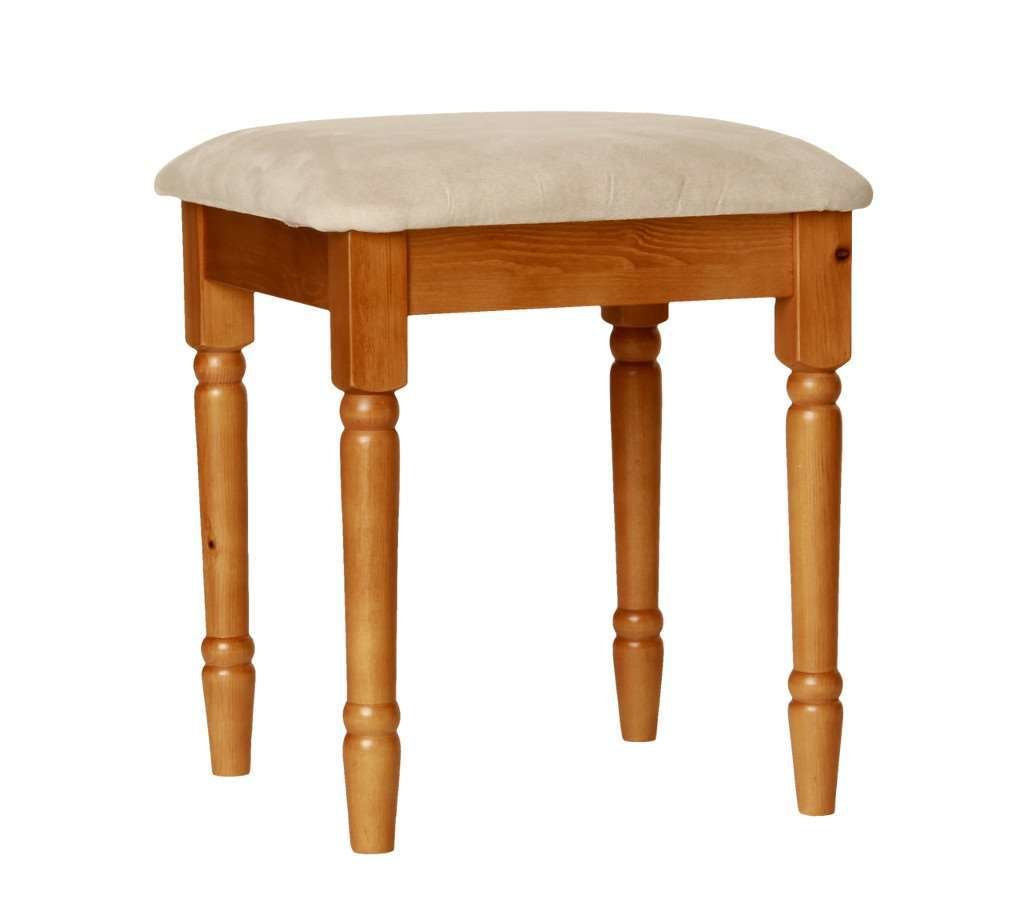 Best Room4 Copenhagen Pine Dressing Table Stool With Pictures