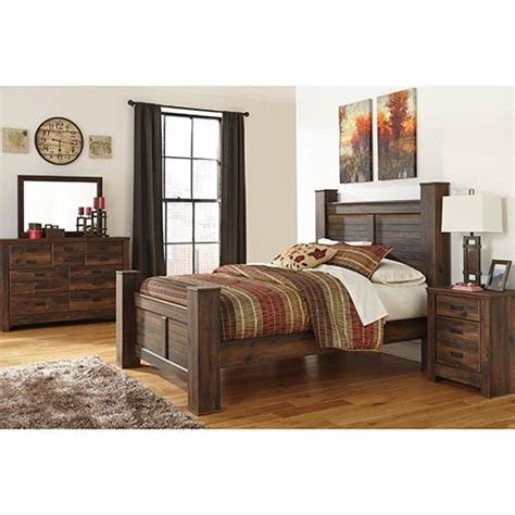 Best Rent An Ashley Quinden 6 Piece Queen Bedroom Set With Pictures