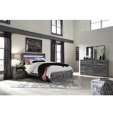 Best Rent To Own Ashley Baystorm 7 Piece Queen Bedroom Set With Pictures