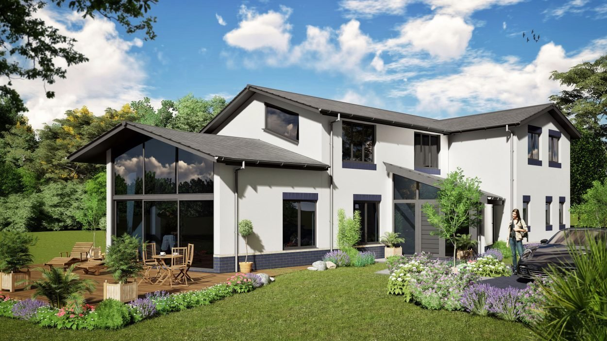 Best Poundgate 4 Bedroom House Design Designs Solo Timber Frame With Pictures