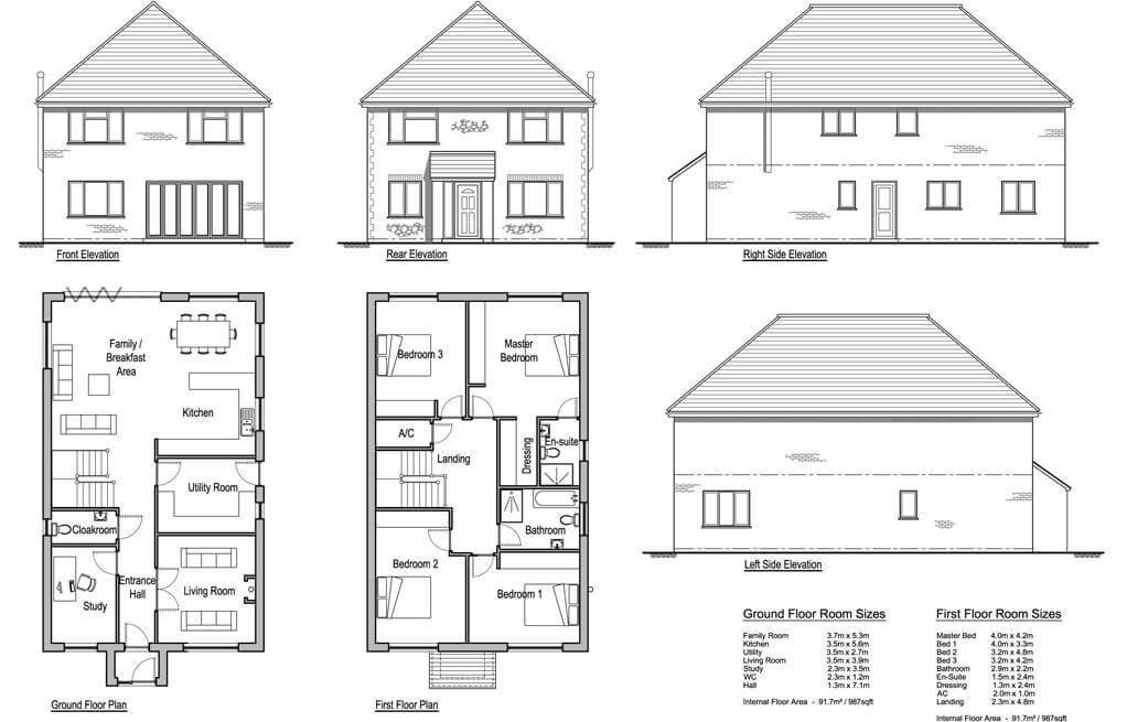 Best Hollies 4 Bedroom House Design Designs Solo Timber Frame With Pictures