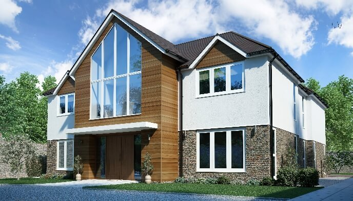 Best Self Build Timber Frame House Designs Range Solo Timber With Pictures