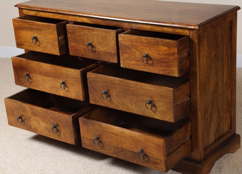 Best Solid Indian Mango Wood Bedside Table Bedroom Furniture With Pictures