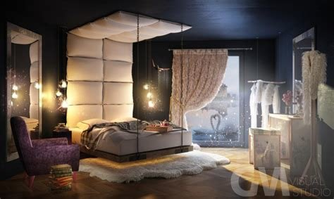 Best Eco Fantasy Bedroom Visual By Grzegorz Magierowski 3D Artist With Pictures