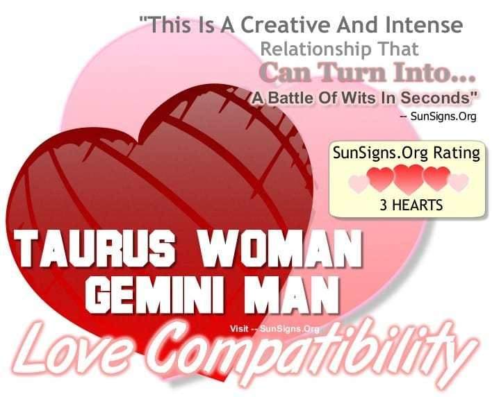 Best Taurus Woman Gemini Man A Creative Intense Match With Pictures