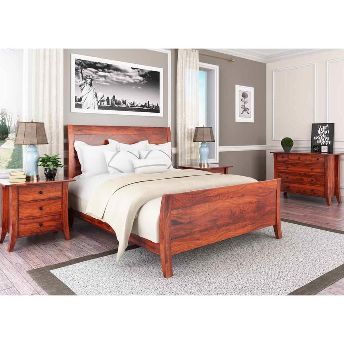 Best Georgia Modern 4 Piece Bedroom Set With Pictures