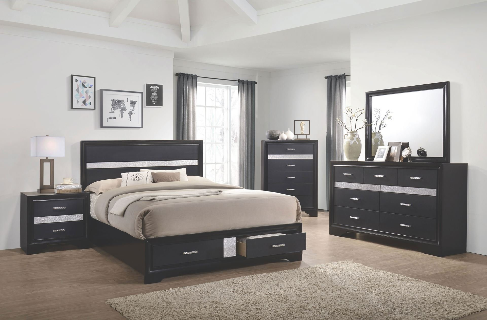 Best Amalia Bedroom Set Walker Furniture Las Vegas With Pictures