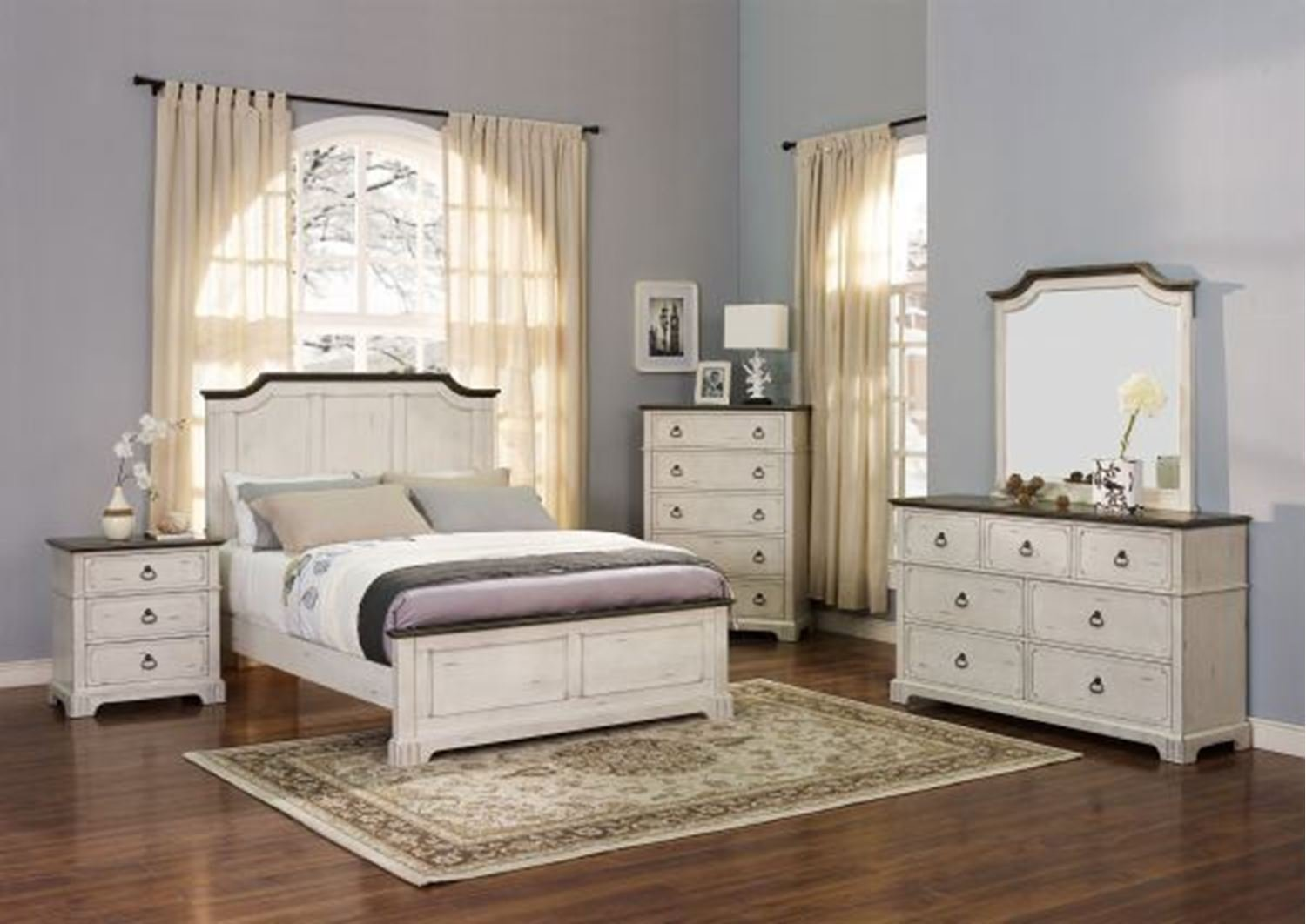 Best Abby Queen Bedroom Set Walker Furniture Las Vegas With Pictures