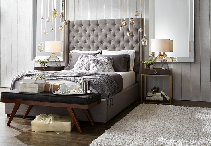 Best Rustic Glam Holiday Decorating Ideas For The Bedroom With Pictures