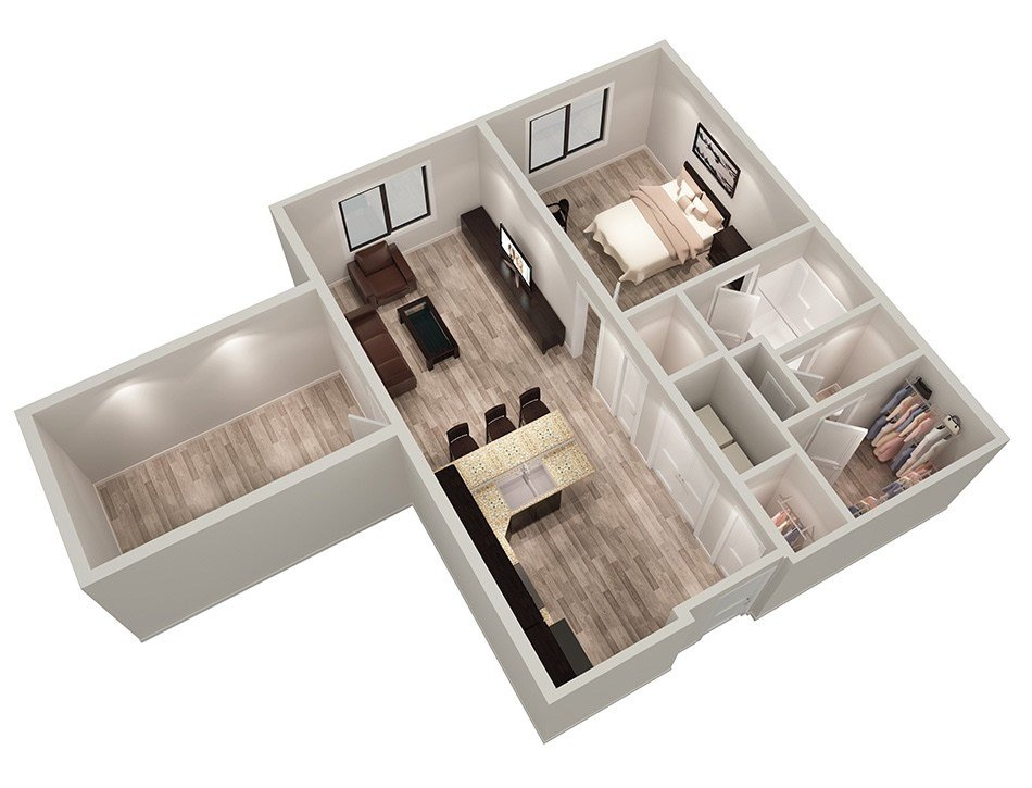 Best Floor Plans For Our Student Apartments For Rent In With Pictures
