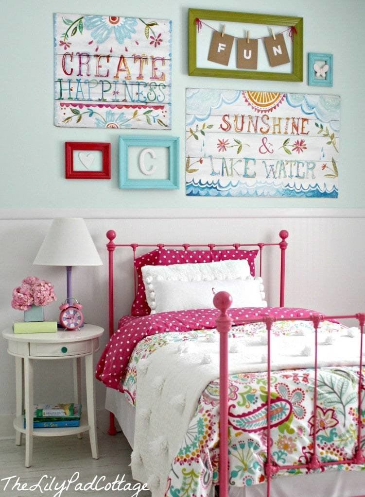 Best Big Girl Bedroom Reveal Finally The Lilypad Cottage With Pictures