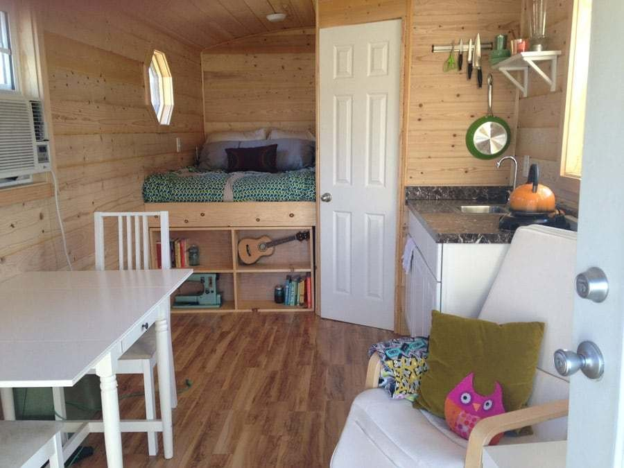 Best Mallory's Perfectly Adorable 180Sf Gypsy Wagon With Pictures