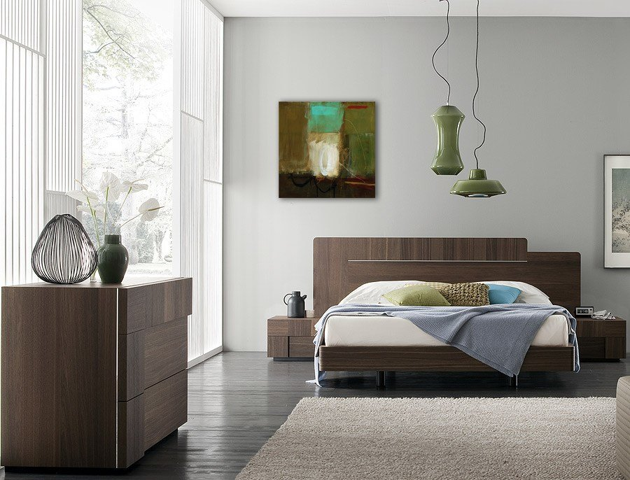 Best Bronx Bedroom Set Queen Modern Digs Furniture With Pictures