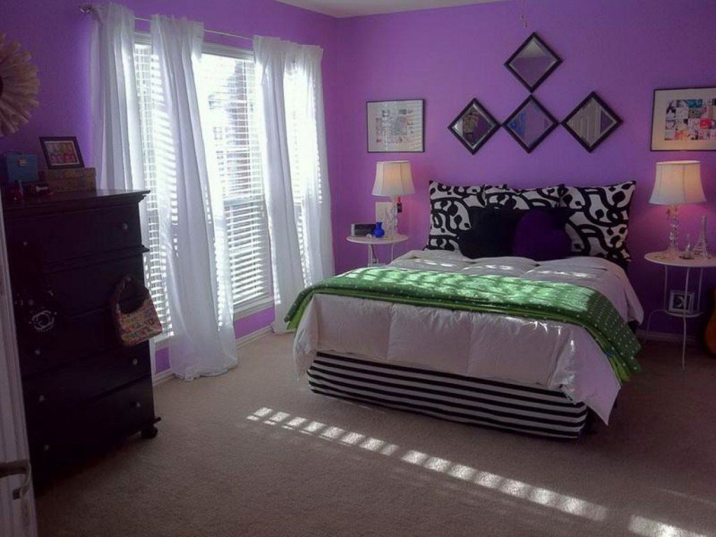 Best 15 Luxurious Bedroom Designs With Purple Color With Pictures