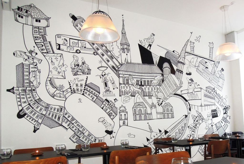 Best Cool Wall Painting Designs To Sweeten Your Interior With Pictures