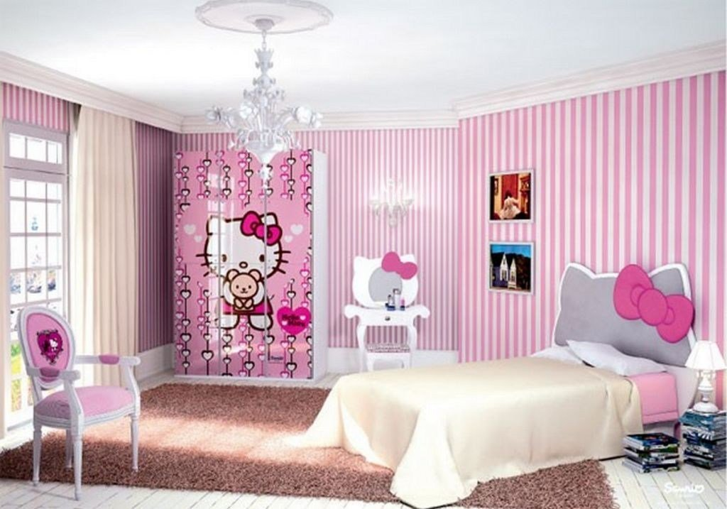 Best 20 Cutest Hello Kitty Girls Bedroom Designs And Decorations With Pictures