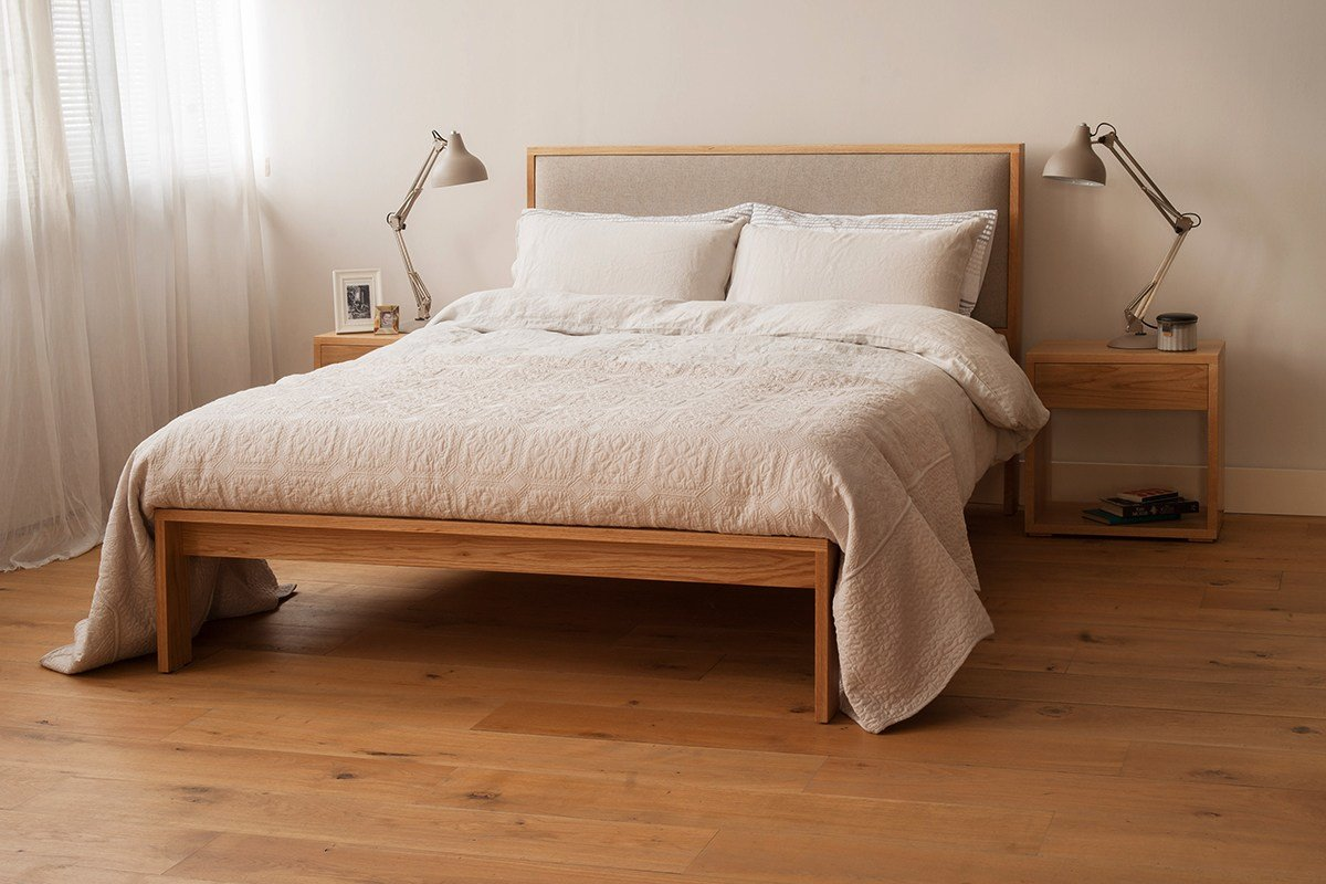 Best Shetland Bed Padded Headboard Natural Bed Company With Pictures