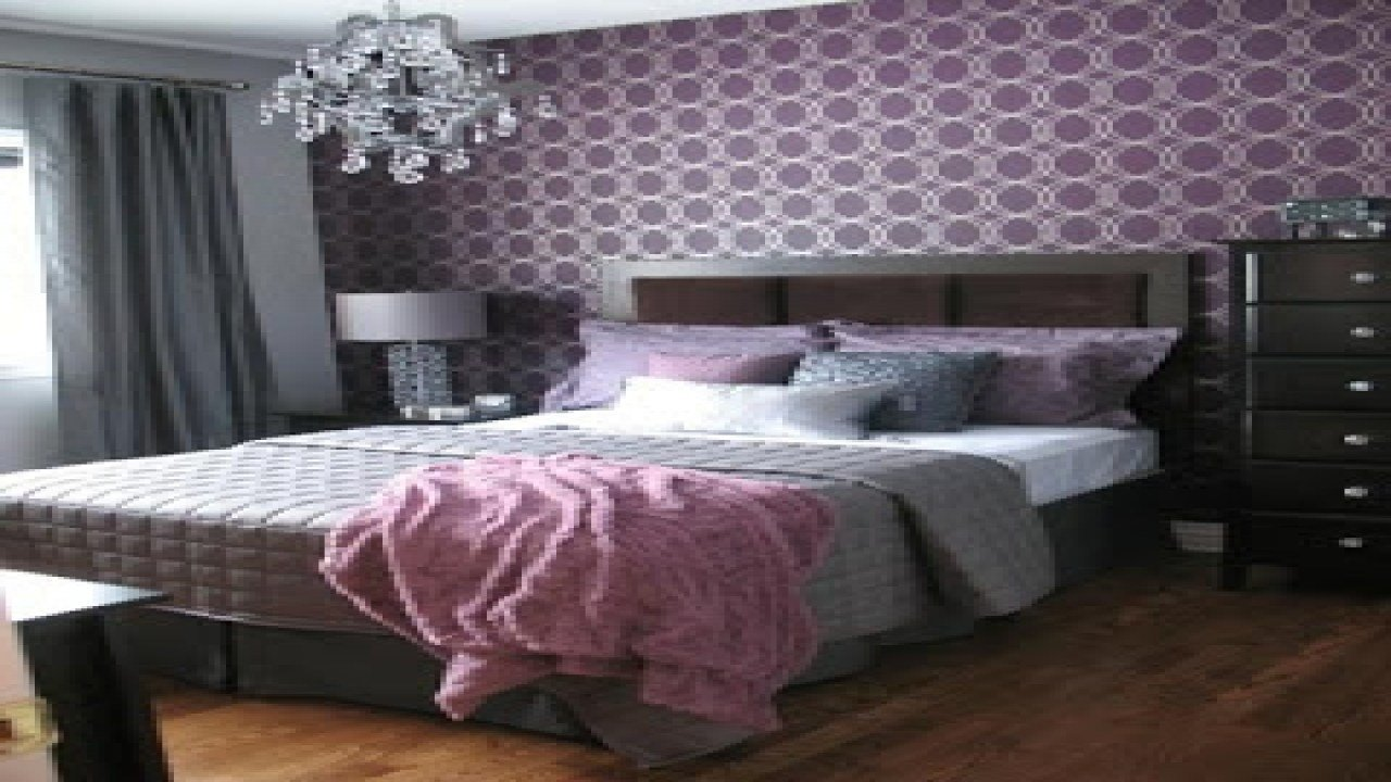 Best Purple And Gray Bedroom Bedroom Ideas Gray Bedroom With With Pictures