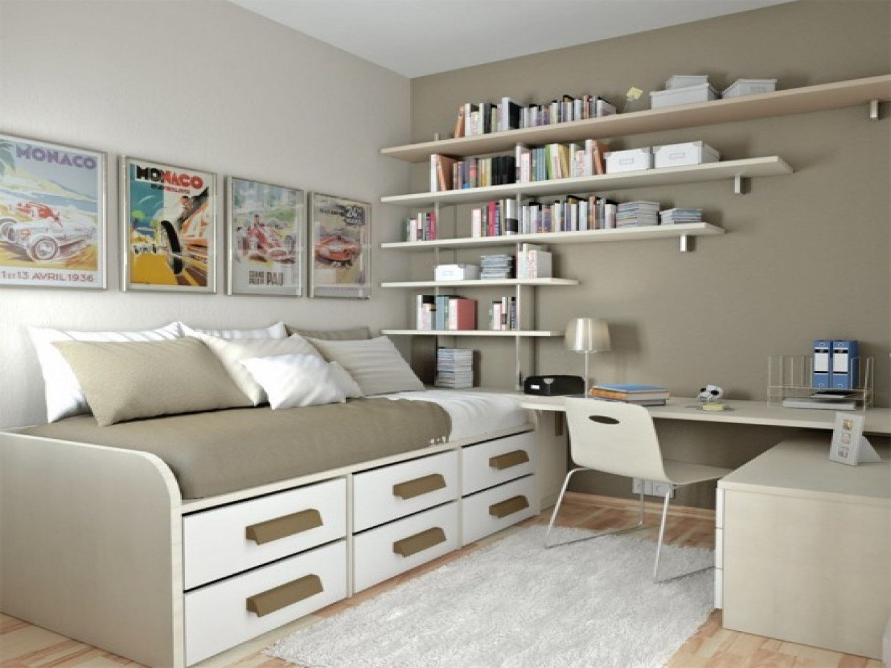 Best Purple And Grey Bedroom Ideas Spare Room Office Guest With Pictures