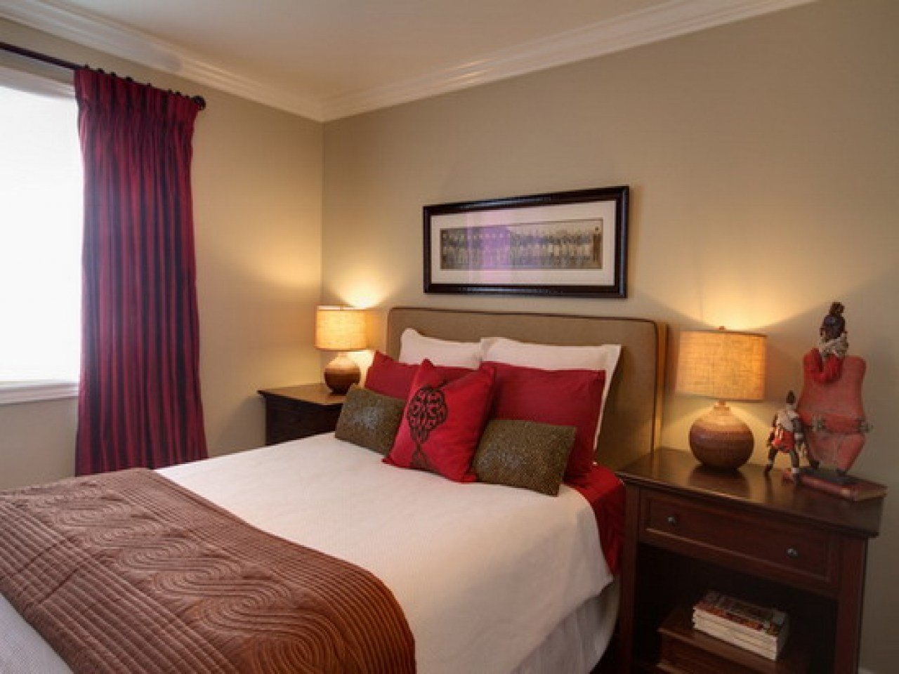 Best Zen Style Bedroom Red And Brown Bedroom Decorating Ideas With Pictures