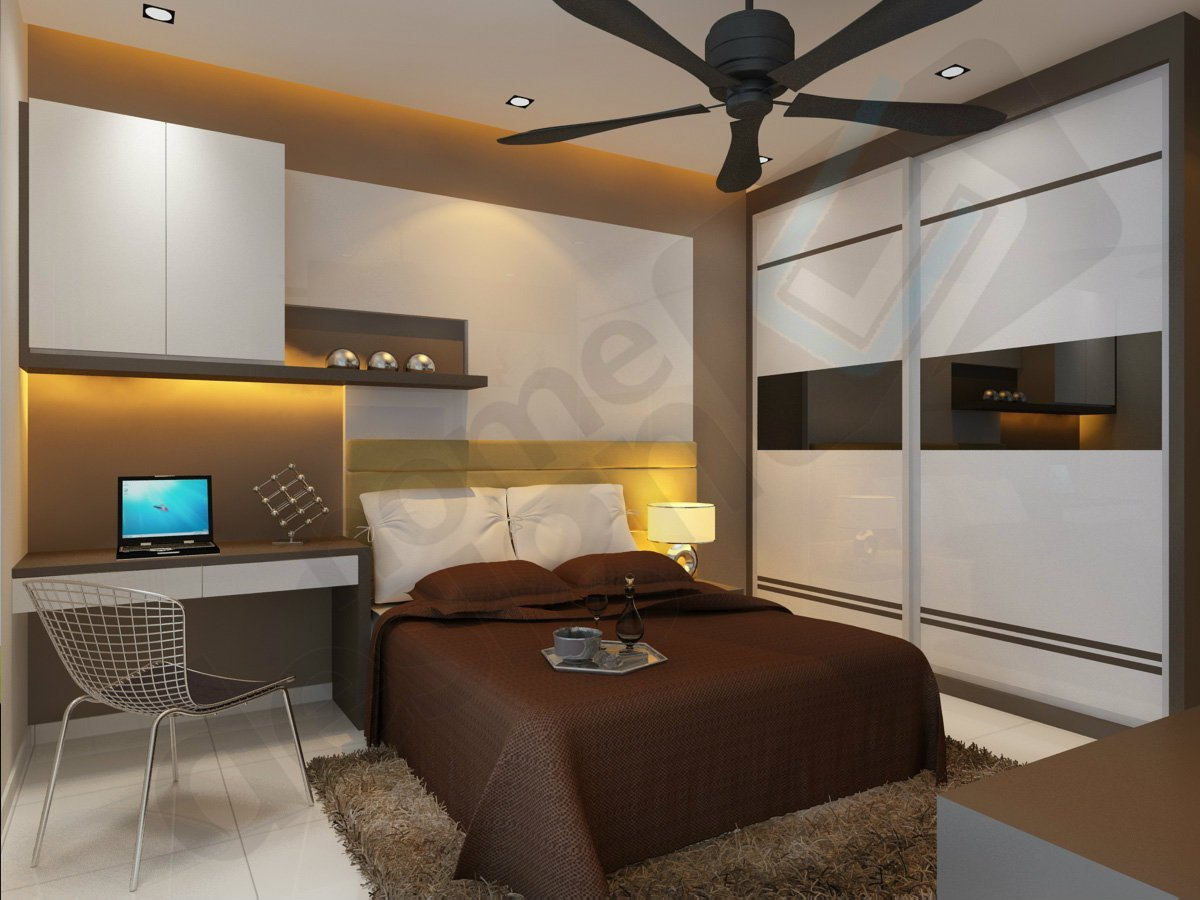 Best Bedroom 3D Design Master Bedroom Skudai Jb Design Cai Yi With Pictures