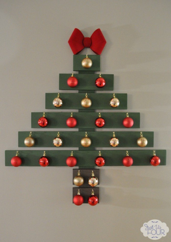 Best Decorative Wall Christmas Tree Idea Pretty Designs With Pictures