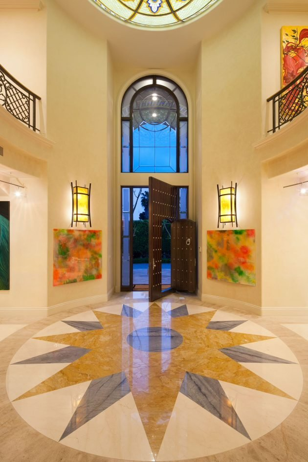 Best 16 Uplifting Mediterranean Entry Hall Designs That Will With Pictures