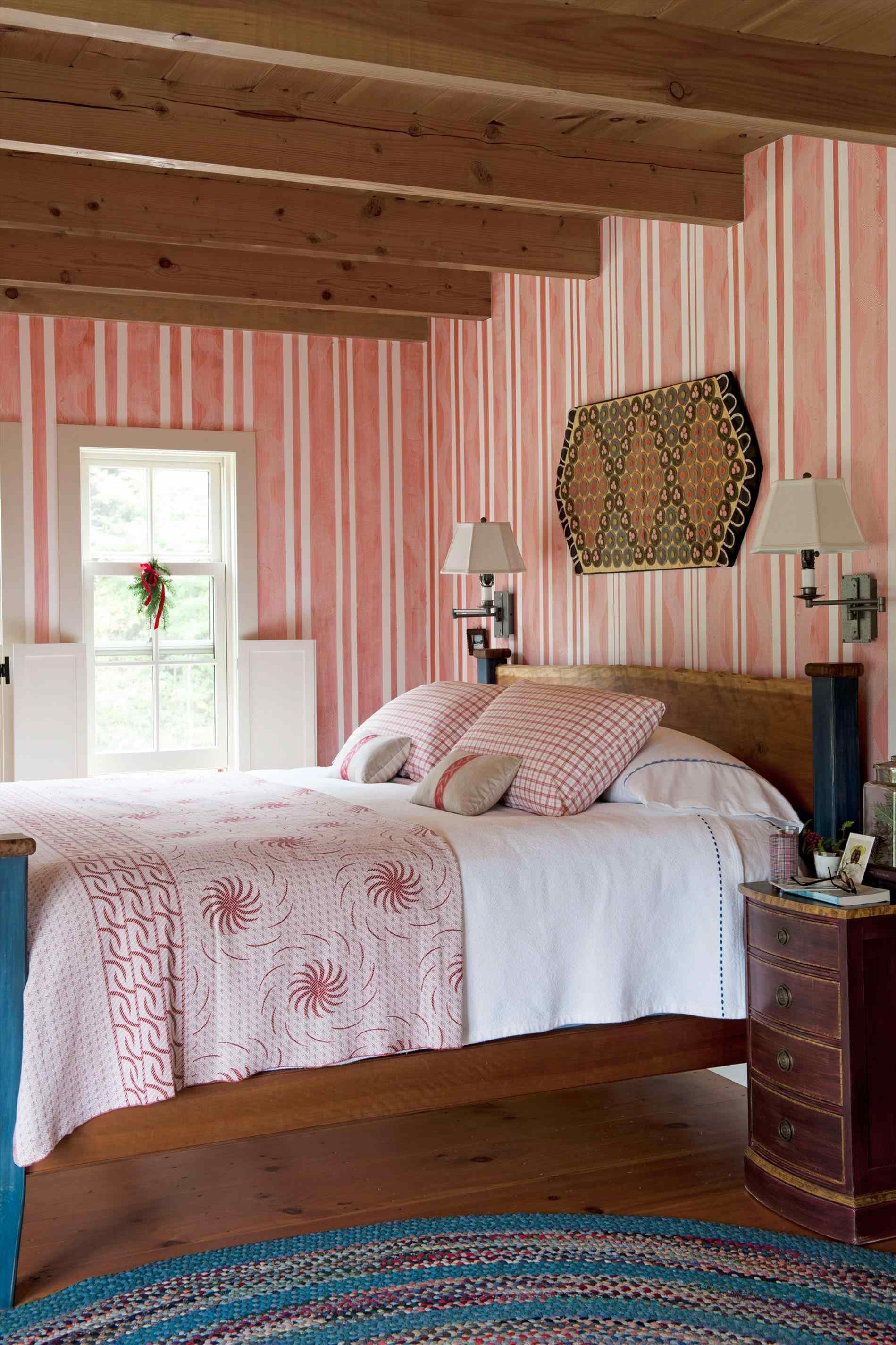 Best Colorful Farmhouse Style Bedroom Arch Dsgn With Pictures