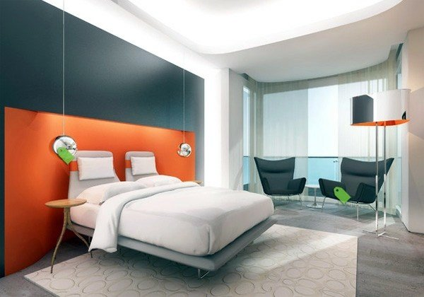 Best Fashion Bedroom Wall – Color Combination And Color Design With Pictures